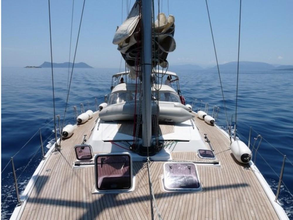 Bootsverleih Marina Alimos günstig Hanse 540e