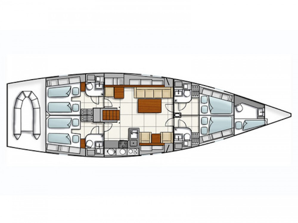 Yacht-Charter in Marina Alimos - Hanse Hanse 540e auf SamBoat