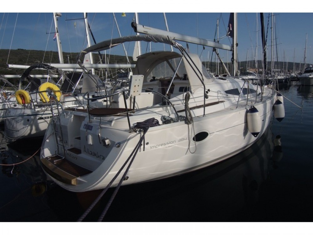 Segelboot mieten in Krk - Elan Elan 384 Impression
