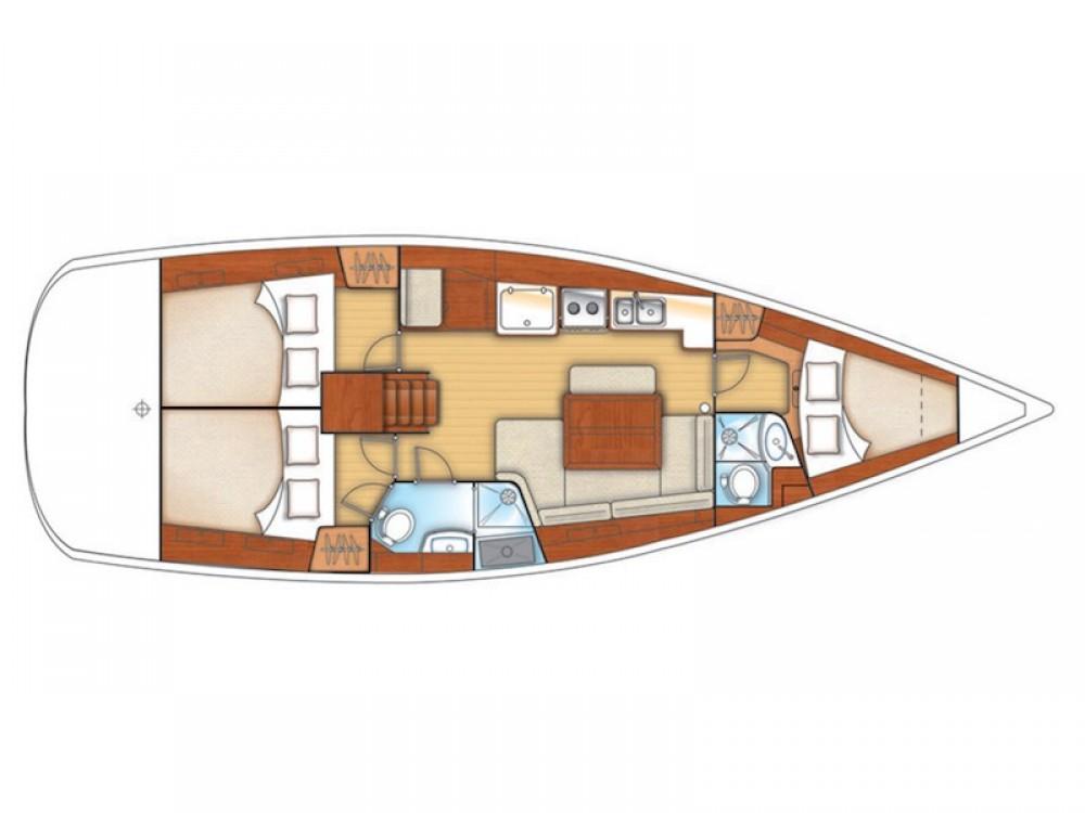 Segelboot mit oder ohne Skipper Bénéteau mieten in Krk