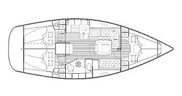 Ein Bavaria Bavaria 35 Cruiser mieten in Lefkada