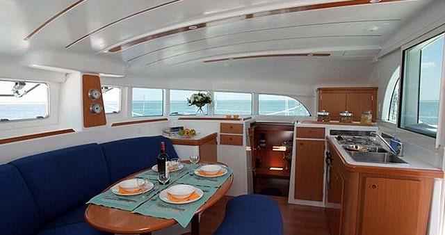 Lagoon Lagoon 380 S2 zwischen Privatpersonen und professionellem Anbieter Lefkada (Island)