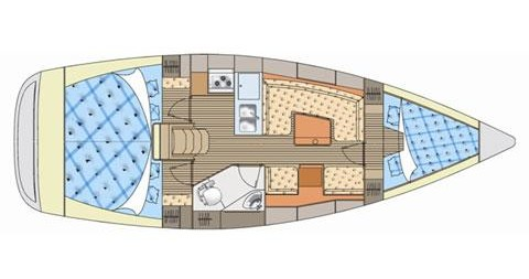 Bootsverleih Elan Impression 344 Betina Samboat