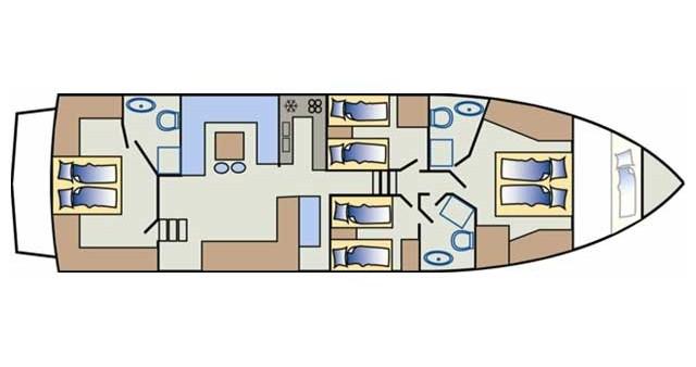 Bootsverleih Yaretti Yaretti 1910 Primošten Samboat