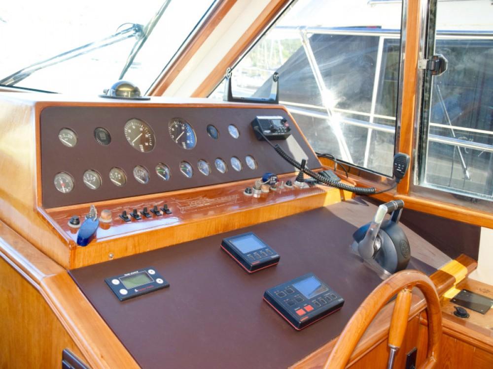 Motorboot mieten in Primošten - Yaretti Yaretti 1570 Heck