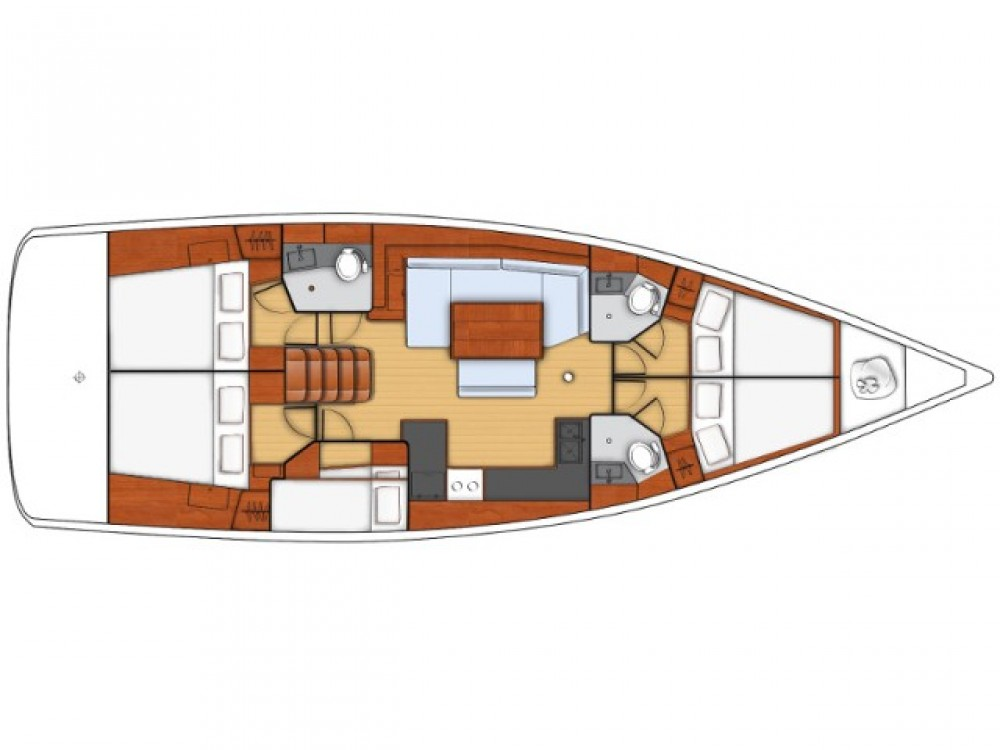Bootsverleih Bénéteau Oceanis 48 Marsala Samboat