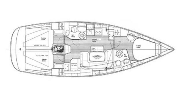 Bootsverleih Trogir günstig Bavaria 39 Cruiser