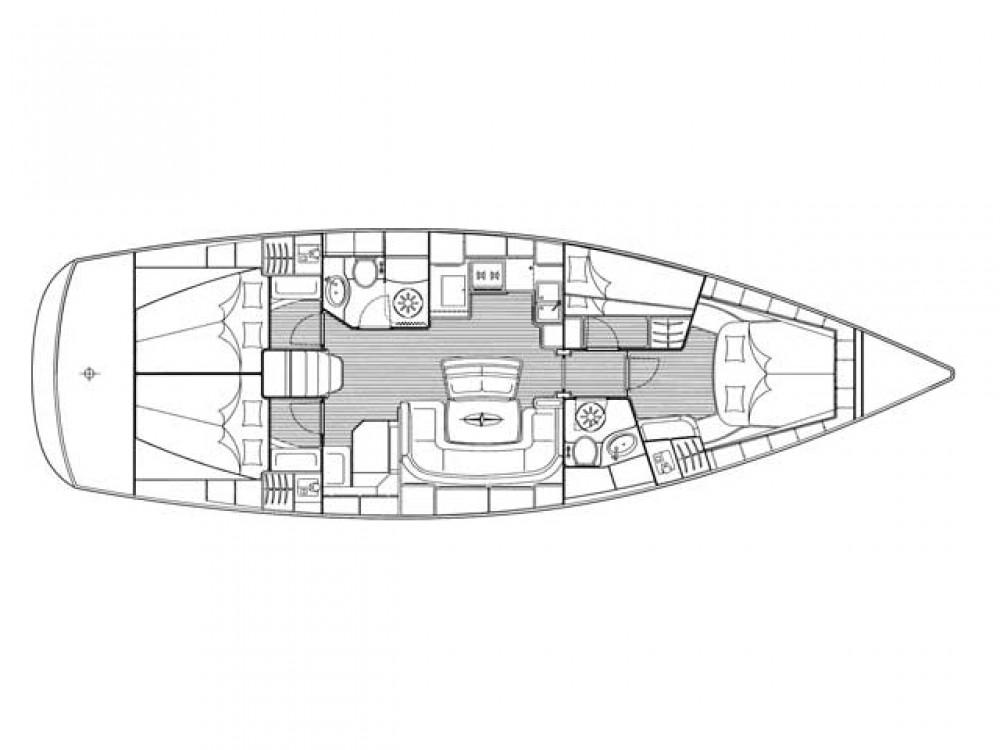 Ein Bavaria Bavaria 46 Cruiser mieten in ACI Marina Trogir