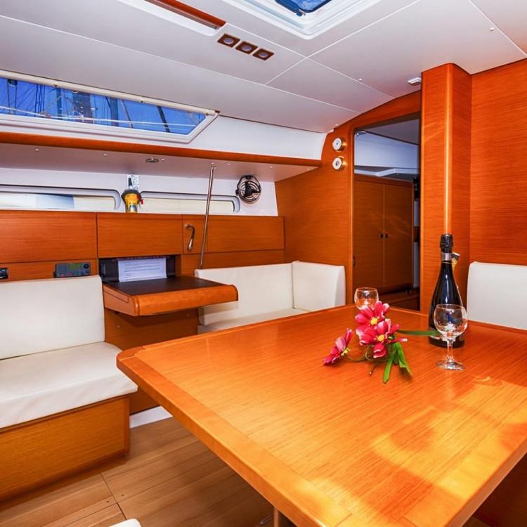 Bootsverleih Jeanneau Sun Odyssey 409 Keramoti Samboat