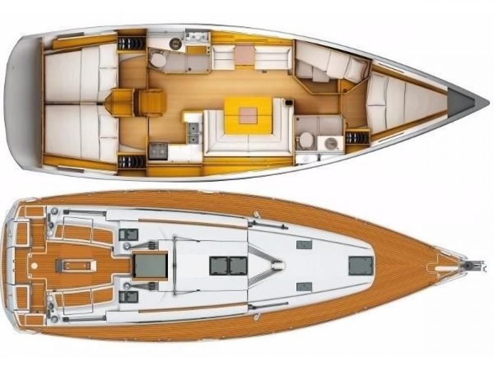 Bootsverleih Keramoti günstig Sun Odyssey 439