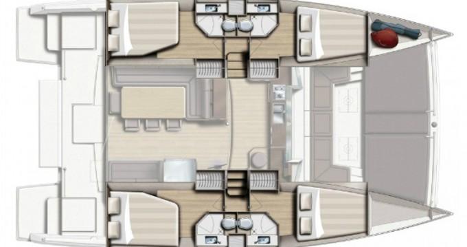 Bali Catamarans Bali 4.3 zwischen Privatpersonen und professionellem Anbieter Volos