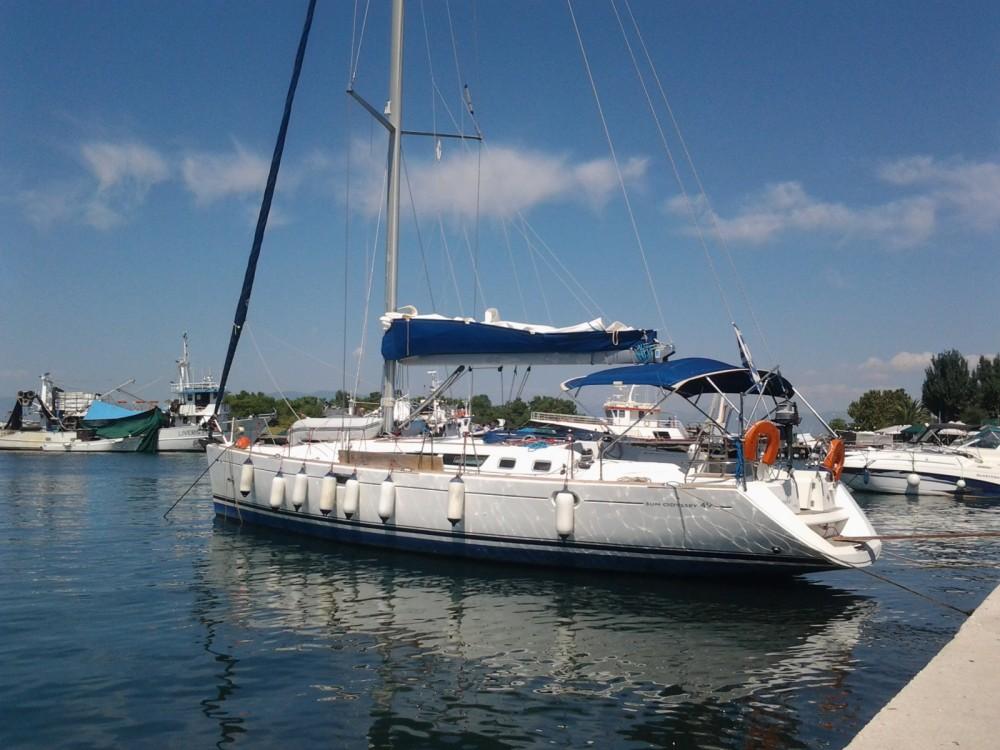 Bootsverleih Keramoti günstig Sun Odyssey 49