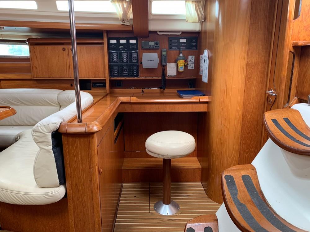 Jeanneau Sun Odyssey 49 zwischen Privatpersonen und professionellem Anbieter Keramoti