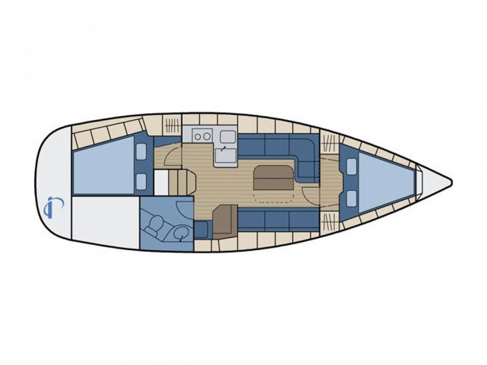 Ein Bavaria Bavaria 34 Cruiser mieten in Grad Zadar
