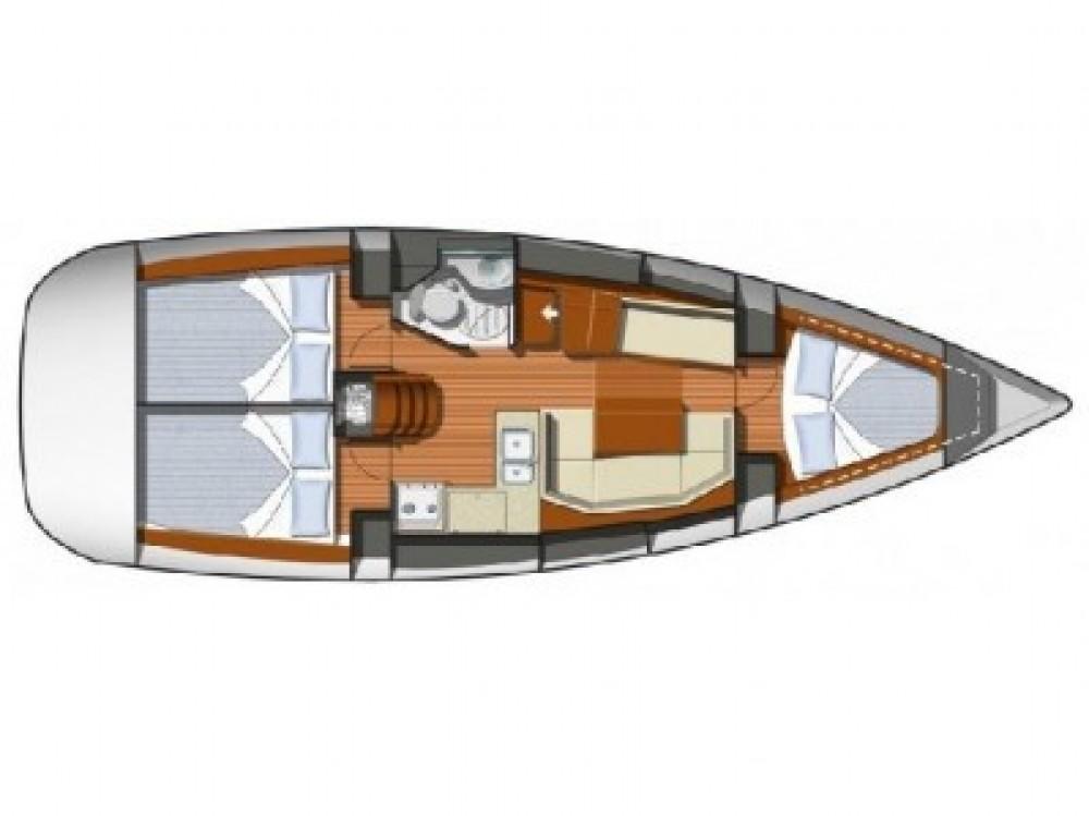 Yacht-Charter in Sant Antoni de Portmany - Jeanneau JEANNEAU SO 36i auf SamBoat