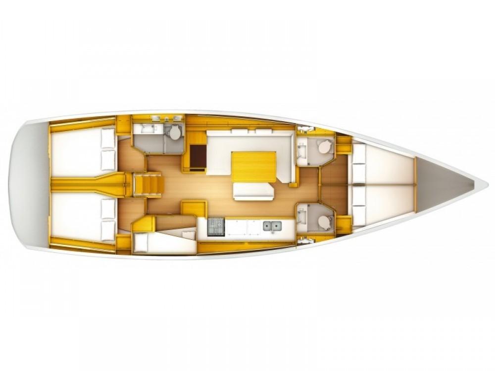 Segelboot mit oder ohne Skipper Jeanneau mieten in Sant Antoni de Portmany