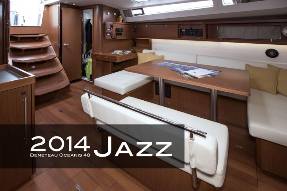 Bootsverleih Bénéteau Oceanis 48 (4 cabins)  Samboat
