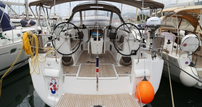 Segelboot mieten in Kaštel Gomilica - Jeanneau Sun Odyssey 479