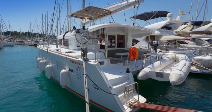Bootsverleih Lagoon Lagoon 400 S2 Split Samboat