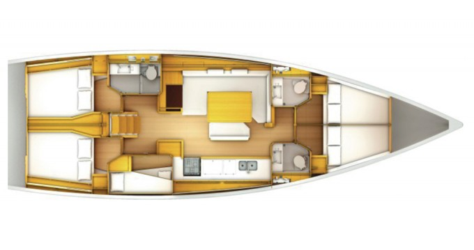 Bootsverleih Marina di Portisco günstig Sun Odyssey 509