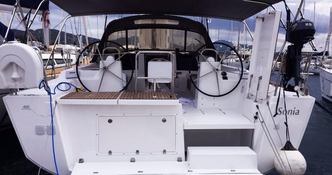 Dufour Dufour 460 Grand Large zwischen Privatpersonen und professionellem Anbieter Marina di Portisco