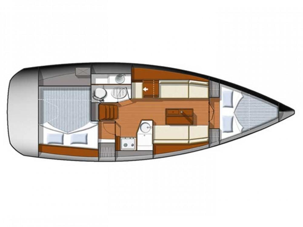 Segelboot mieten in Sukošan - Jeanneau Sun Odyssey 33i