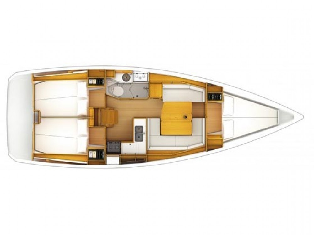 Bootsverleih Jeanneau Sun odyssey 379 performance Sukošan Samboat