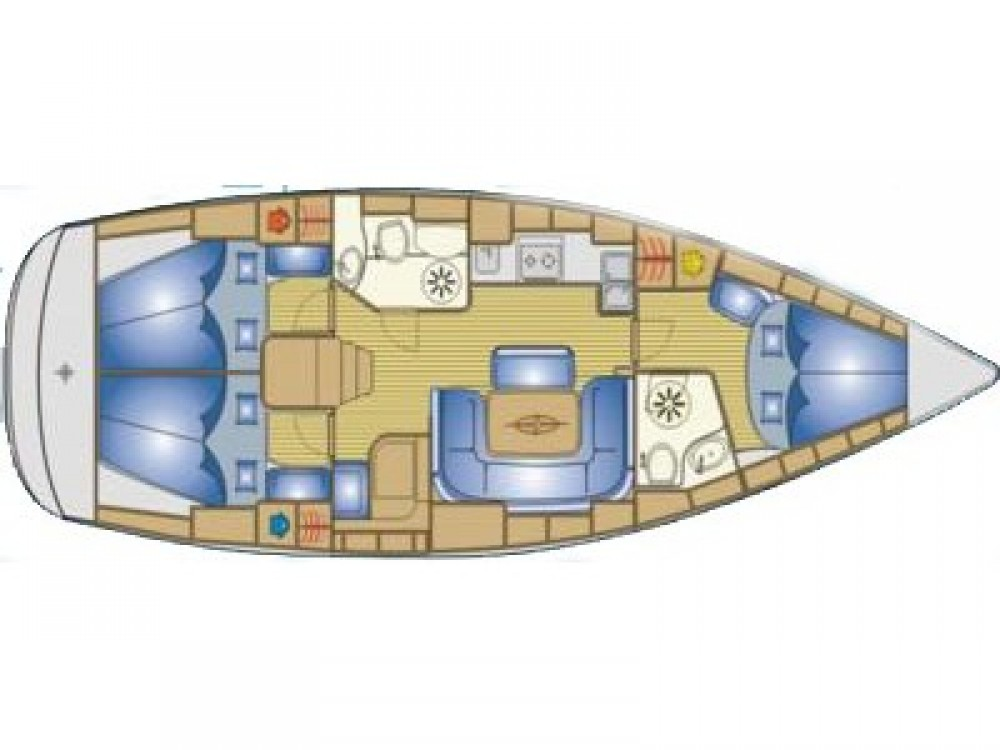 Segelboot mieten in Biograd na Moru - Bavaria Bavaria 39 Cruiser