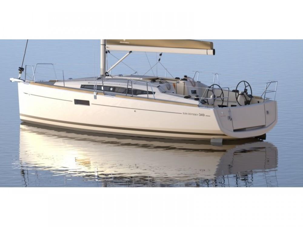 Segelboot mieten in Sukošan - Jeanneau Sun Odyssey 349
