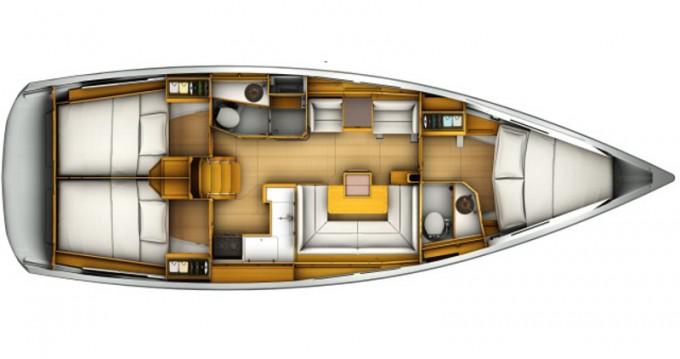 Yacht-Charter in Pirovac - Jeanneau Sun Odyssey 419 auf SamBoat