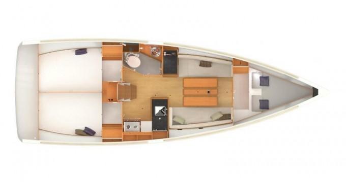 Yacht-Charter in Pirovac - Jeanneau Sun Odyssey 349 auf SamBoat