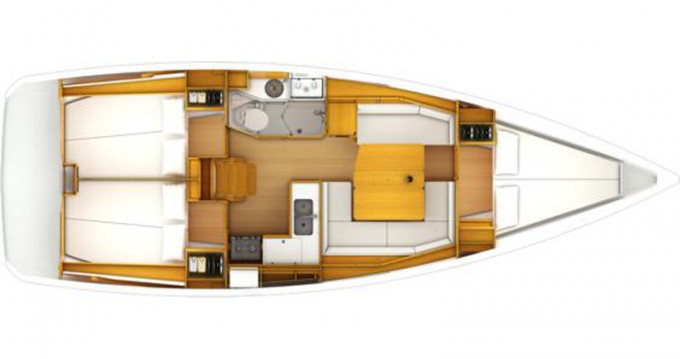 Yacht-Charter in Pirovac - Jeanneau Sun Odyssey 389 auf SamBoat