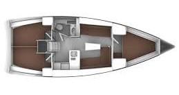 Ein Bavaria Cruiser 37 mieten in Pirovac