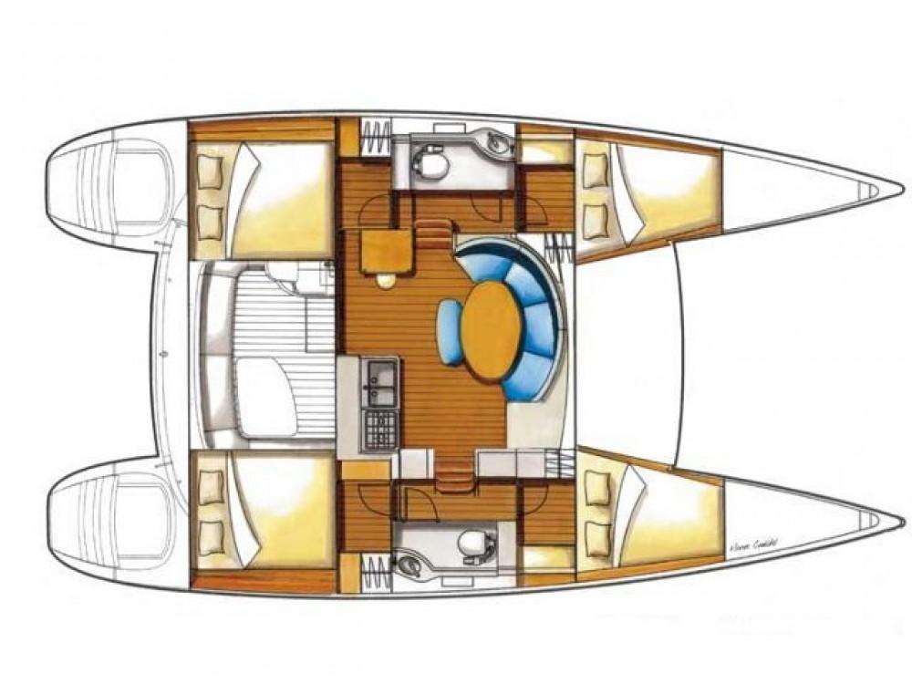 Bootsverleih Marina Alimos günstig Lagoon 380
