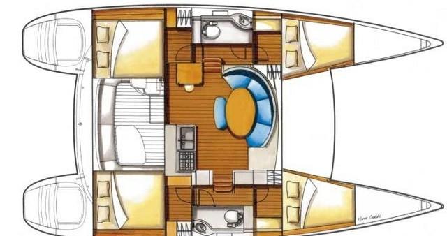 Bootsverleih Lagoon Lagoon 380 Athen Samboat