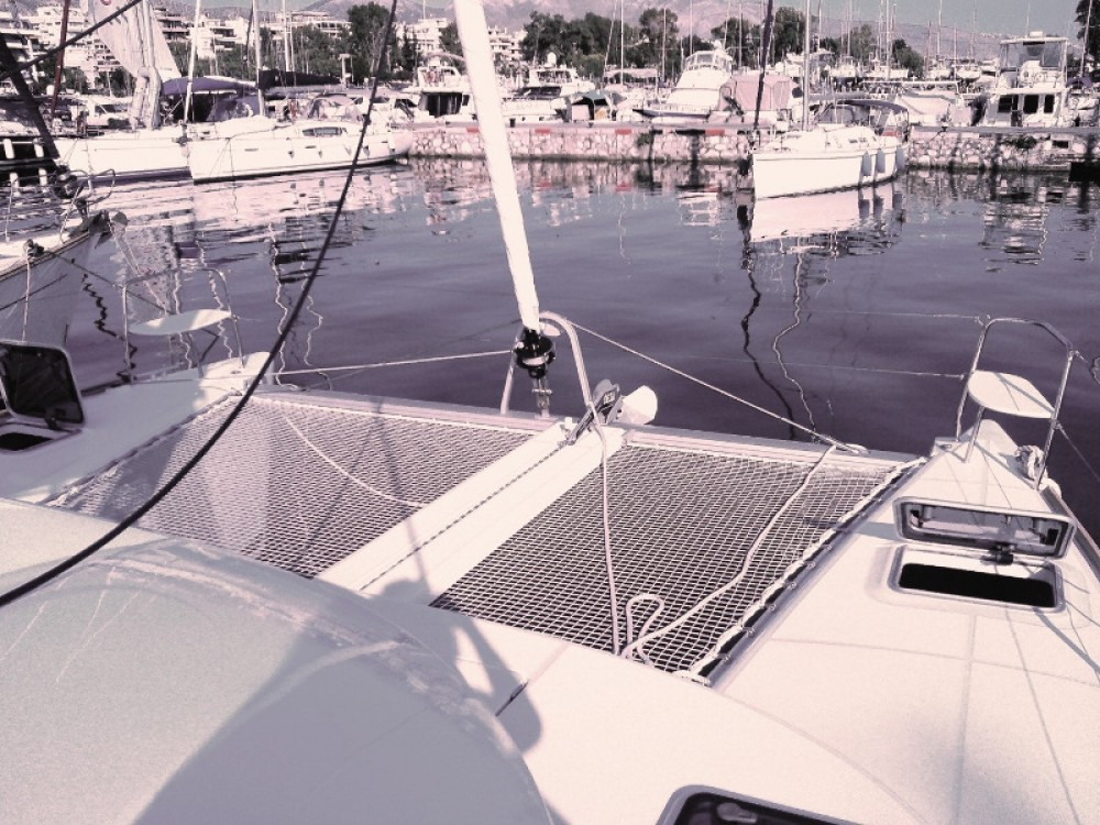 Lagoon Lagoon 380 zwischen Privatpersonen und professionellem Anbieter Marina Alimos
