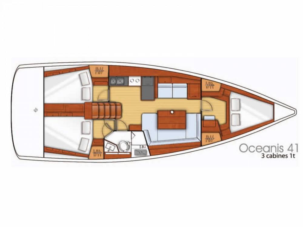 Segelboot mieten in  - Bénéteau Oceanis 41