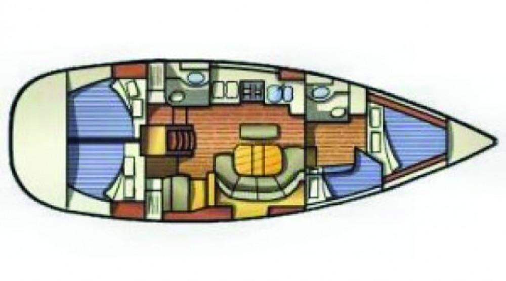 Ein Bénéteau Oceanis 411 mieten in Lefkada