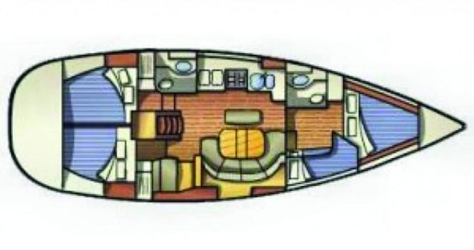 Ein Bénéteau Oceanis 411 mieten in Lefkas Marina