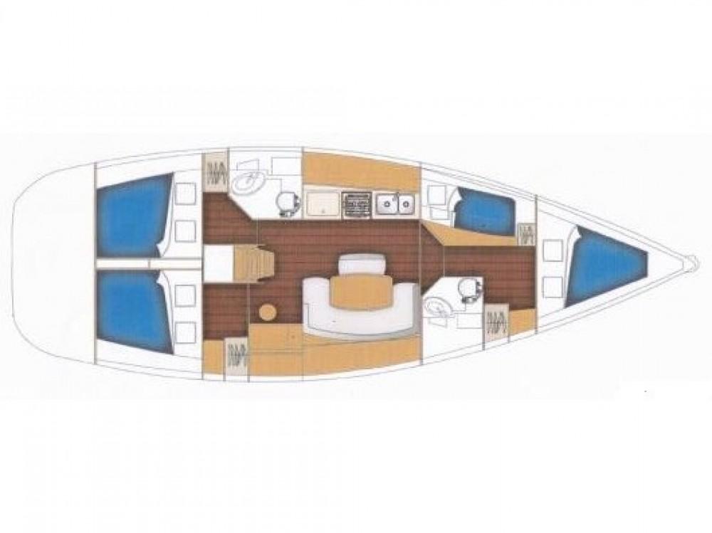 Yacht-Charter in Lefkada - Bénéteau Cyclades 434 auf SamBoat