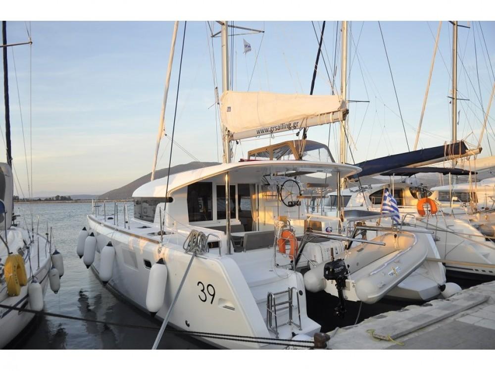 Lagoon Lagoon 39 zwischen Privatpersonen und professionellem Anbieter Lefkada