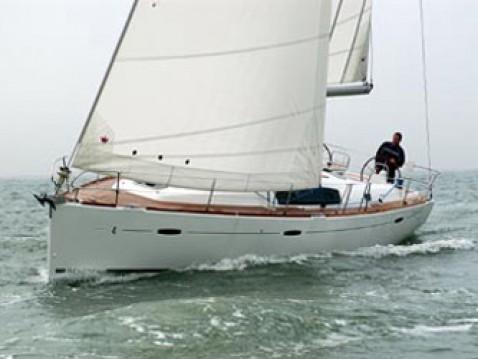 Bootsverleih Lefkas Marina günstig Oceanis 43