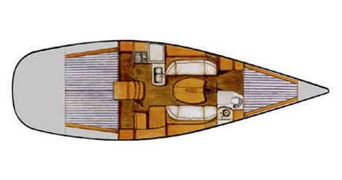 Segelboot mieten in Biograd na Moru - Bénéteau First 40.7