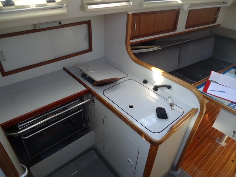 Vermietung Segelboot Dehler mit Führerschein