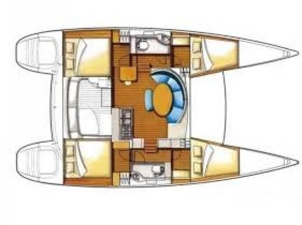 Bootsverleih Lagoon Lagoon 380 PREMIUM Le Marin Samboat