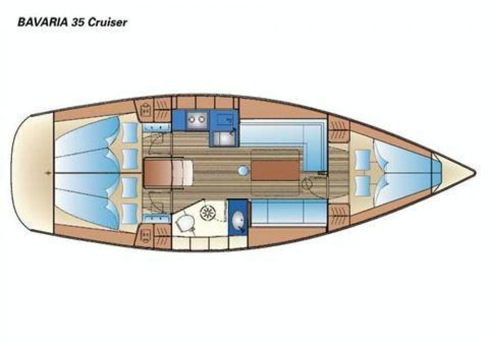 Bootsverleih Bavaria Bavaria 35 Cruiser Nacka Samboat
