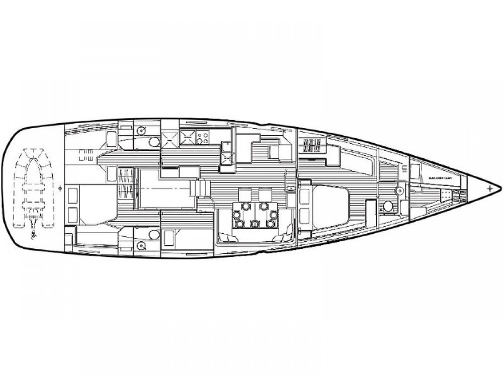 Segelboot mieten in Šibenik - Jeanneau Jeanneau 64