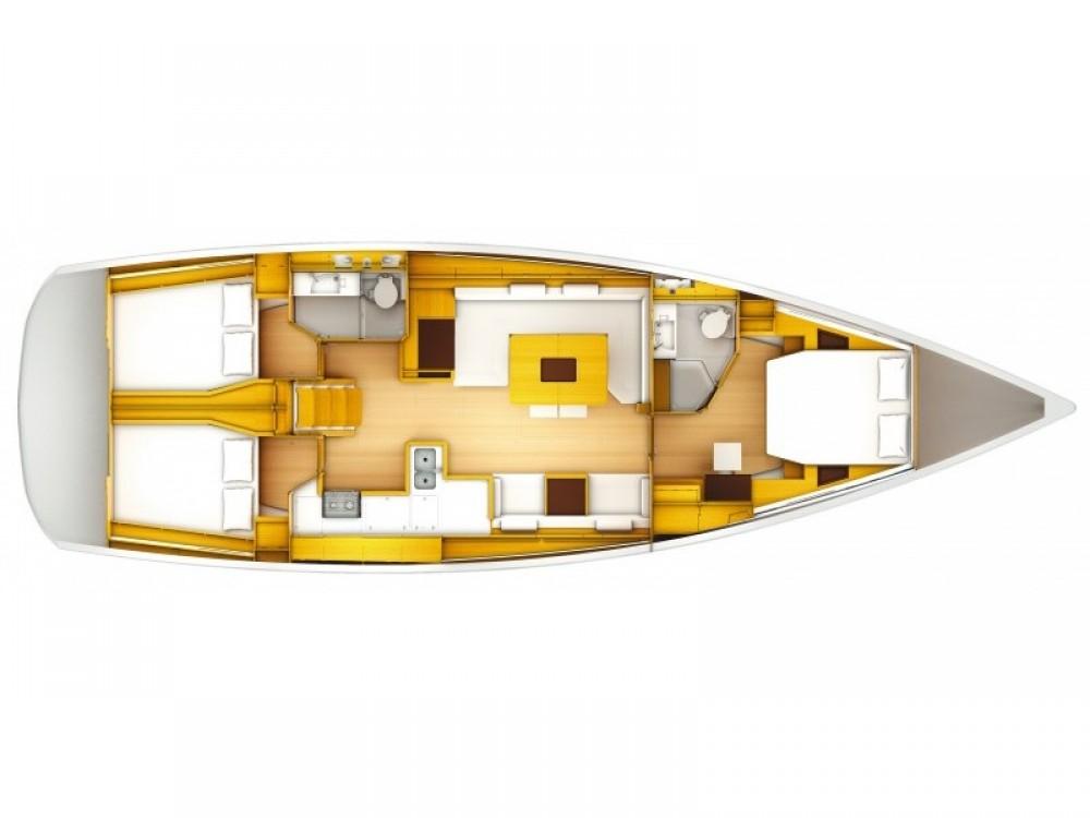 Segelboot mit oder ohne Skipper Jeanneau mieten in Šibenik