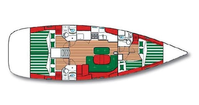 Bootsverleih Šibenik günstig Oceanis 473 C