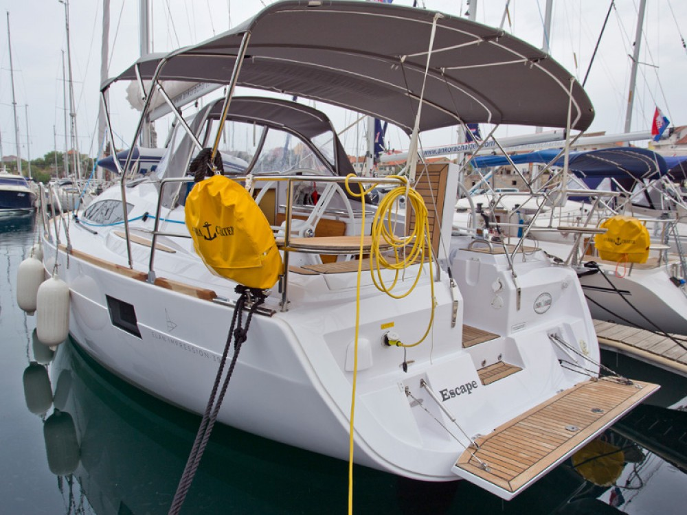 Yacht-Charter in Šibenik - Elan Elan 394 Impression auf SamBoat